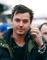 Gavin Rossdale at the Foxs Super Bowl XLII red carpet.