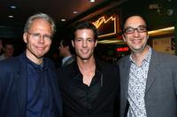 Stephen Macias, Philipp Karner and Paul Colichman at the premiere of