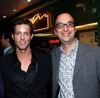 Philipp Karner and Paul Colichman at the premiere of