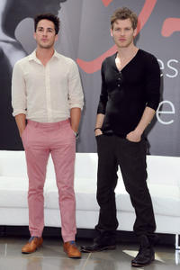 Michael Trevino and Joseph Morgan at the photocall of