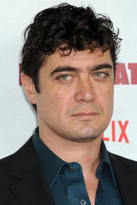 Riccardo Scamarcio at the Lo spietato photocall in Rome.