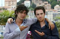 Riccardo Scamarcio and Elio Germano at the photocall of
