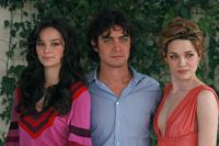Louise Saunders, Riccardo Scamarcio and Laura Chiatti at the photocall of