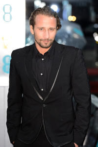 Matthias Schoenaerts at the EE British Academy Film Awards in England.
