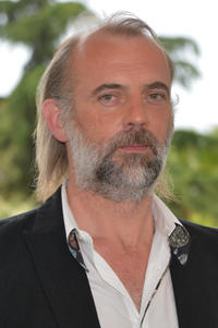 Sam Louwyck at the photocall to announce the new film 'Emperor' during the 67th Annual Cannes Film Festival.