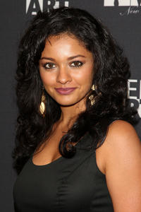 Pooja Kumar at the 15th anniversary Gen Art benefit in New York.