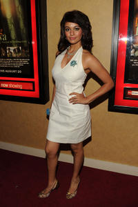Pooja Kumar at the New York premiere of
