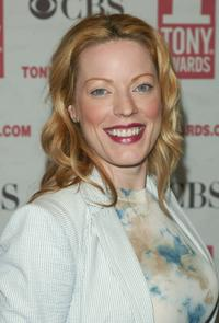 Sherie Rene Scott at the 2005 Tony Awards meet the nominees press reception.
