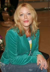Sherie Rene Scott at the Rehearsals of her new musical