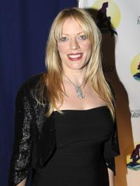 Sherie Rene Scott at the after party to celebrate the opening night of