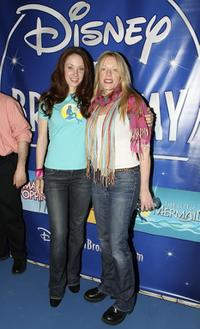 Sierra Boggess and Sherie Rene Scott at the Disney's