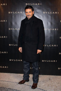 Pascal Elbe at the Bulgari 125th Anniversary Celebration in France.