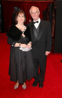 Frank Kelly and Guest at the 2012 Irish Film and Television Awards.