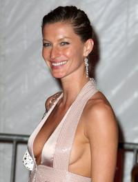 Gisele Bundchen at the Metropolitan Museum of Art Costume Institute Gala.