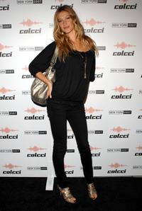 Gisele Bundchen at the Colcci US launch event.