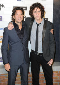 Henry Ian Cusick and Guest at the Spike TV's Scream 2010.