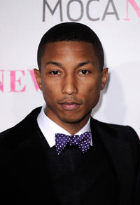 Pharrell Williams at the MOCA New 30th Anniversary Gala in California.