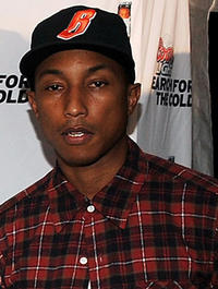 Pharrell Williams at the Coors Light Super Cold Summer Kickoff Event in Georgia.