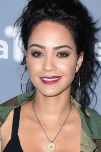 Tristin Mays at a junket for