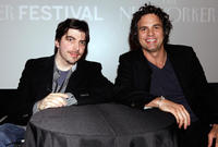 Christopher Thornton and director Mark Ruffalo at the 2010 New Yorker Festival: