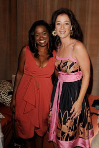 Niketa Calame and Moira Kelly at the after party of the premiere of