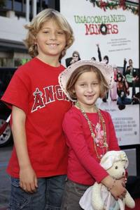 Shane Baumel and Mikaila Baumel at the California premiere of