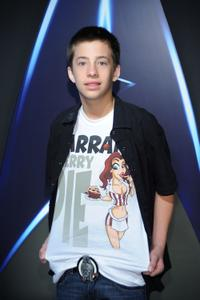Jimmy Bennett at the Paramount Home Entertainment's