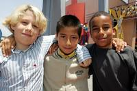 Timmy Deters, Christopher Garcia-Reyes and Brandon Vincent at the premiere of