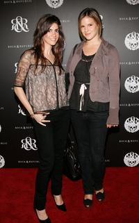 Tara Mercurio and Kate Sumner at the Rock and Republic Spring Collection Party.