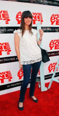 Tara Mercurio at the premiere of