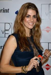 Tara Mercurio at the launch party to celebrate Diane von Furstenberg's limited edition designer mobile phone.