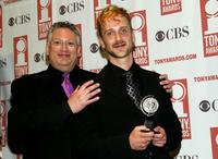Harvey Fienstein and Jeff Whitty at the 58th Annual Tony Awards.
