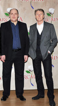 Glenn Fleshler and Byron Jenning at the photocall of