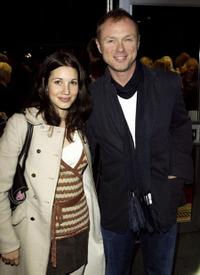 Lauren Barbour and Gary Kemp at the premiere screening of
