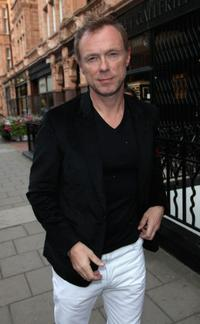 Gary Kemp at the launch party for Stephen Websters new flagship store.