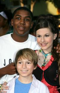 Christopher Massey, Paul Butcher and Erin Sanders at the California premiere of