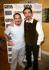 Malcolm Danare and Jordi Caballero at the Frederic Fekkai Pre-Emmy