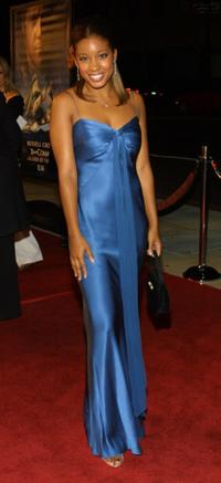 Reagan Gomez-Preston at the premiere of