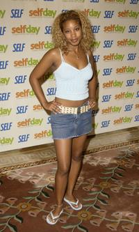 Reagan Gomez-Preston at the Self Magazines Self Day kick-off party.