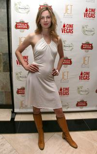Anne Dudek at the evening party during the CineVegas film festival.