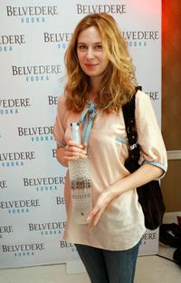 Anne Dudek at the Belvedere Luxury Lounge in honor of the 80th Academy Awards.