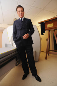 Martin Kemp at the London Gamma Knife Centre in England.