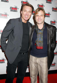Martin Kemp and Steve Norman at the Shockwaves NME Awards 2005 in London.