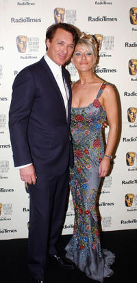 Martin Kemp and Zoe Lucker at the British Academy Television Awards in London.
