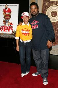 Aleisha Allen and Ice Cube at the promotion of