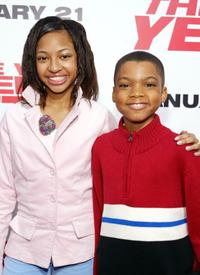 Aleisha Allen and Philip Daniel Bolden at the premiere of