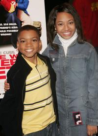 Philip Daniel Bolden and Aleisha Allen at the premiere of