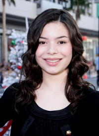 Miranda Cosgrove at the Hollywood premiere of