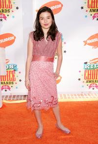 Miranda Cosgrove at the 19th Annual Kid's Choice Awards.
