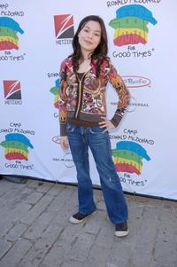 Miranda Cosgrove at the Camp Ronald McDonald for kids 14th Annual Family Halloween Carnival.